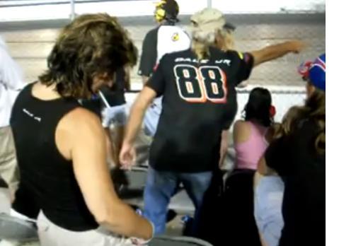 DRUNK NASCAR FAN