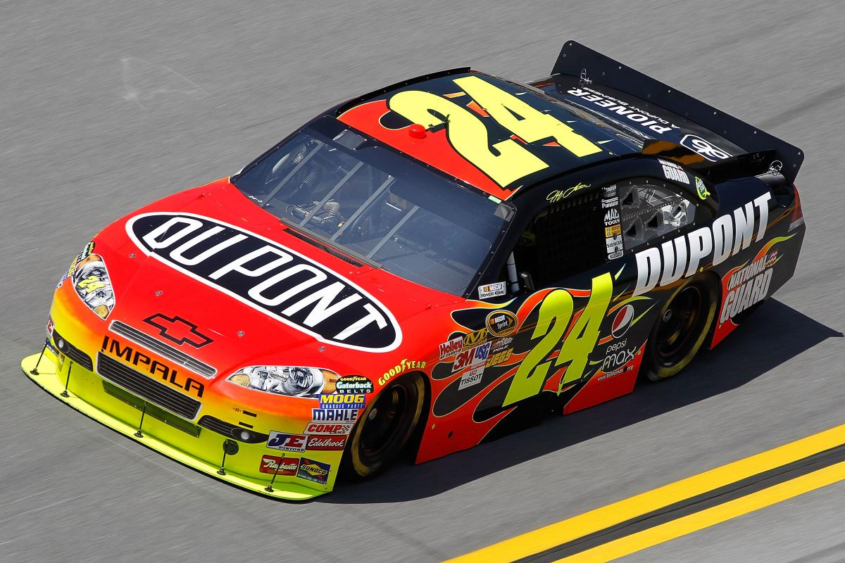 JEFF GORDON WILL WIN IN CHICAGO