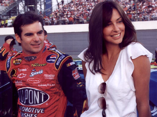 JEFF GORDON'S WIFE BEGGING HIM TO QUIT RACING: TABLOID REPORT
