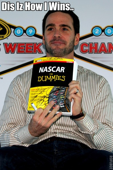 THE SECRET TO JIMMIE JOHNSON'S SUCCESS