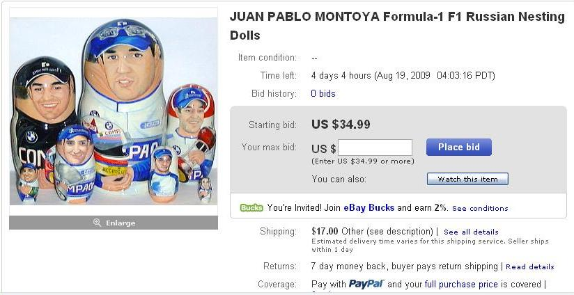 FUNNY NASCAR AUCTIONS