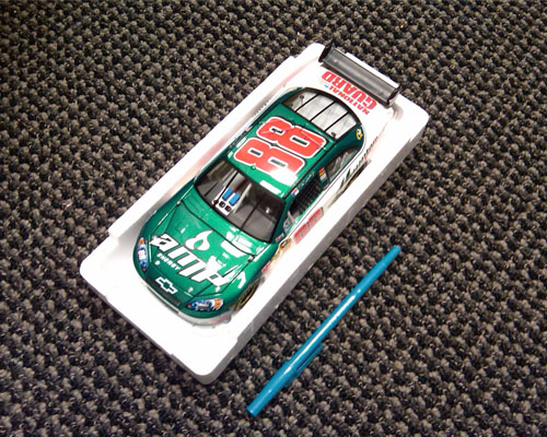 EARNHARDT JR. DIE-CAST CAR CONTEST