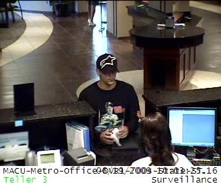 EARNHARDT JR. FAN ROBS BANK