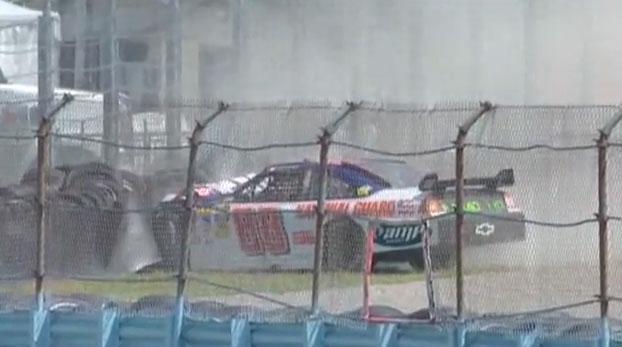 EARNHARDT JR. WATKINS GLEN CRASH