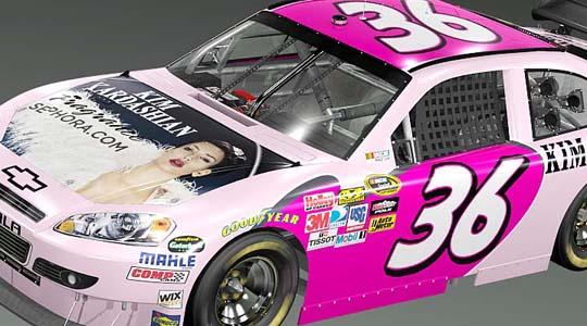 NASCAR SPONSOR KIM KARDASHIAN