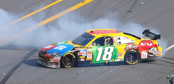 MORGAN FREEMAN VOICEOVER AFTER LATEST KYLE BUSCH TIRADE