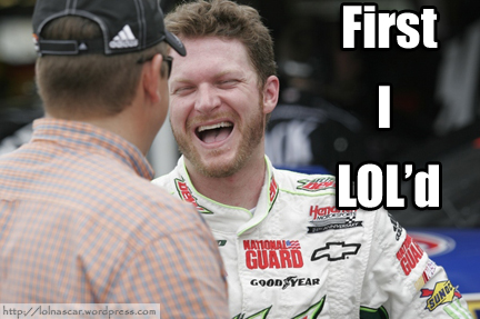 LOLNASCAR: THE JUNIOR FACE