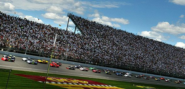 LIFELOCK 400 TV RACE TIME AND PREVIEW