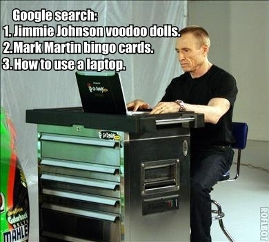 LOLNASCAR: MARK MARTIN AND THE INTERNETS