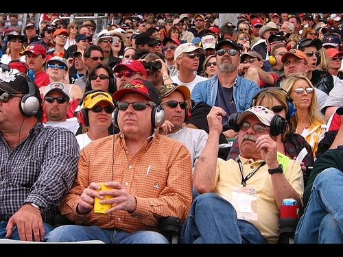 DAUGHERTY: A LOT OF AFRICAN-AMERICANS LOVE NASCAR
