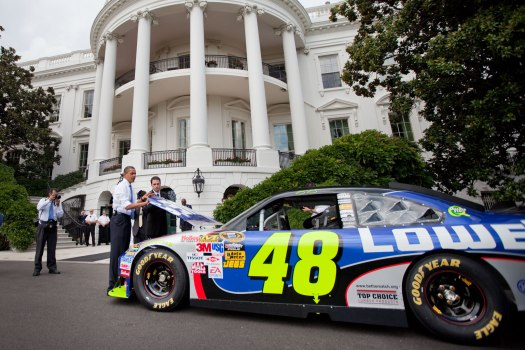OBAMA WHITE HOUSE TO ENLIST NASCAR FOR ANTI-TEXTING CAMPAIGN