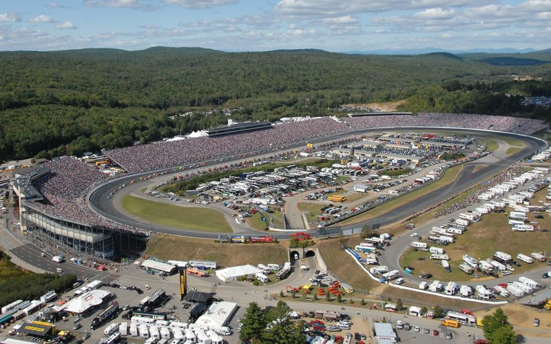 SYLVANIA 300 RACE AND TV TIME