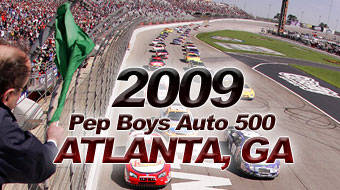 PEP BOYS AUTO 500 RACE TIME AND TV INFO