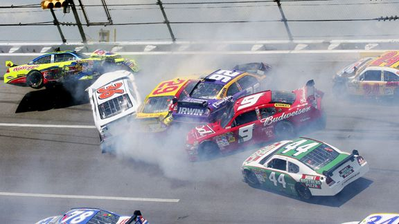 TALLADEGA CRASH VIDEOS