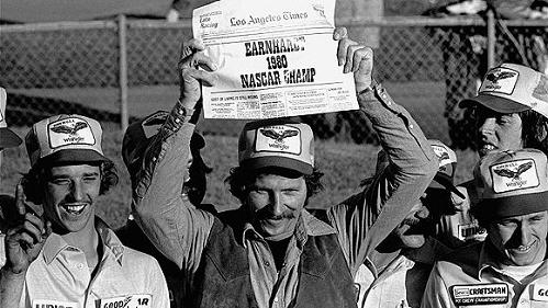 REMEMBERING DALE EARNHARDT'S FIRST CHAMPIONSHIP 30 YEARS AGO
