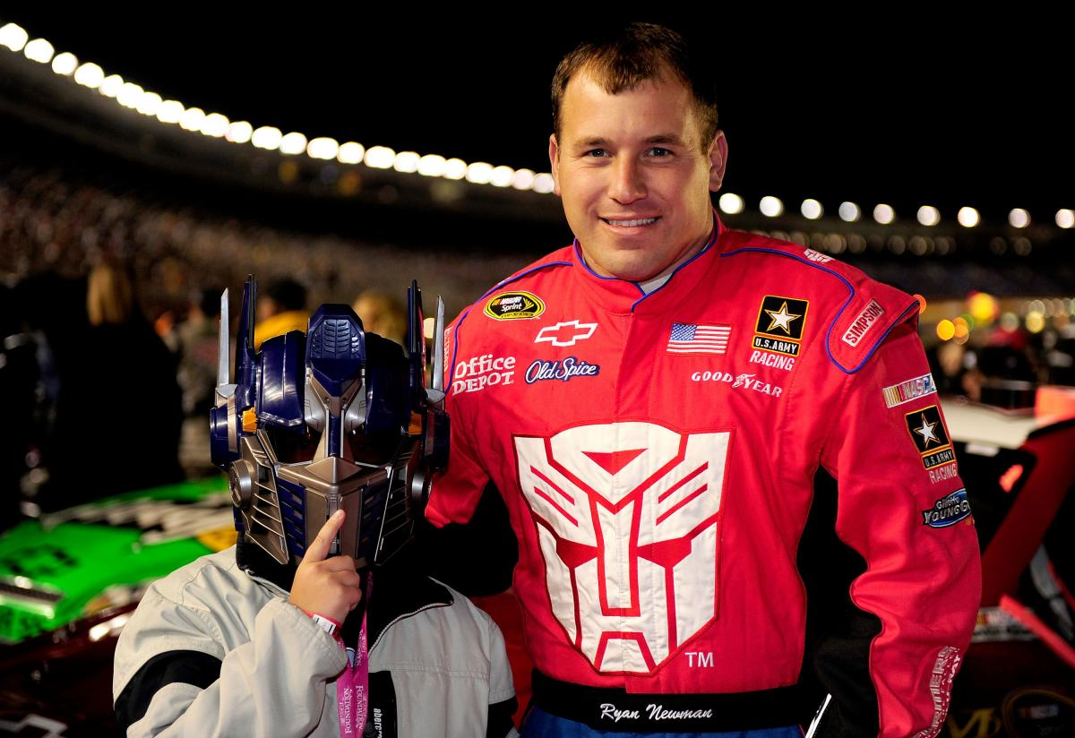 CONGRATULATIONS TO RYAN NEWMAN AND JIMMIE JOHNSON ON THE BIRTH OF YOUR SON