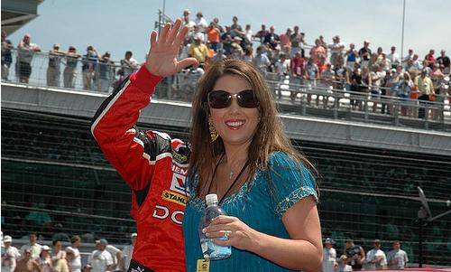 MAYFIELD'S WIFE TAKES OVER NO. 41 CAR