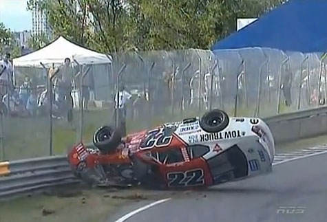 SCOTT STECKLY CRASH