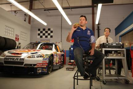 TONY STEWART THROWS DOWN A WHOPPER