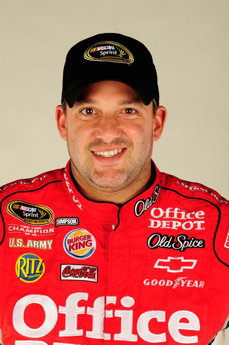 TONY STEWART SLUMPING RIGHT ALONG WITH OTHER HENDRICK DRIVERS